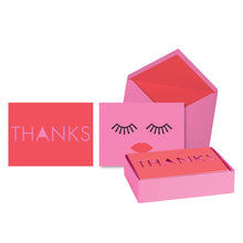 Lovely Lashes Notecards