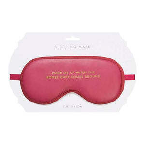 Booze Cart Sleep Mask