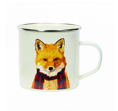 Enamel Mug - Fox