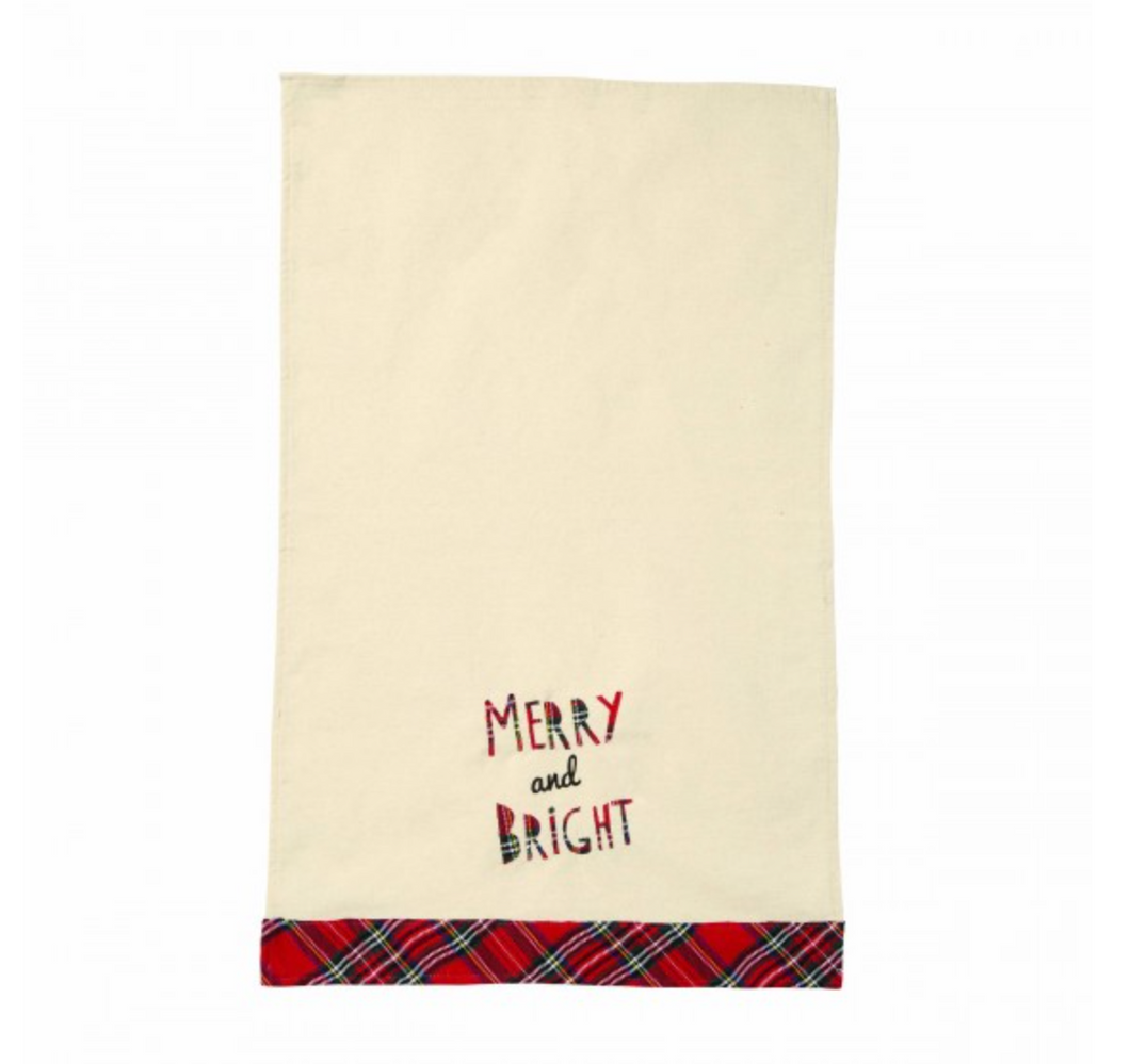 Merry & Bright Dish Towel