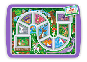 Enchanted Forest Kid's Dinner Tray
