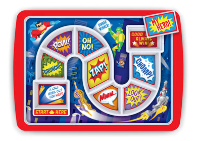 Superhero SUPPERhero Kid's Dinner Tray