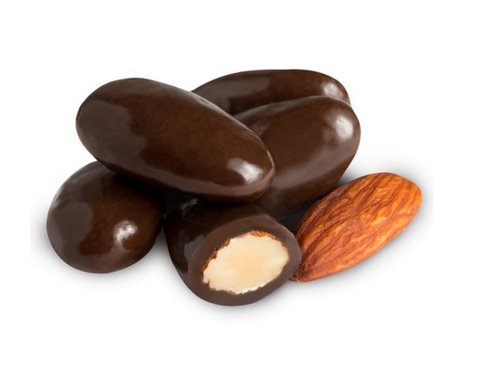 Dark Chocolate Covered Almonds - Simply Nuts