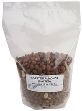 Roasted California Almonds (salt/unsalted) - Simply Nuts