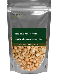 Raw Macadamia Nuts - Simply Nuts