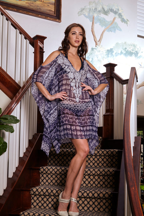 Luna - Embroidered Kaftan