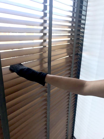 Upcycle Tights in 26 Ways for Princes Trust Challenge: 6. Clean your blinds
