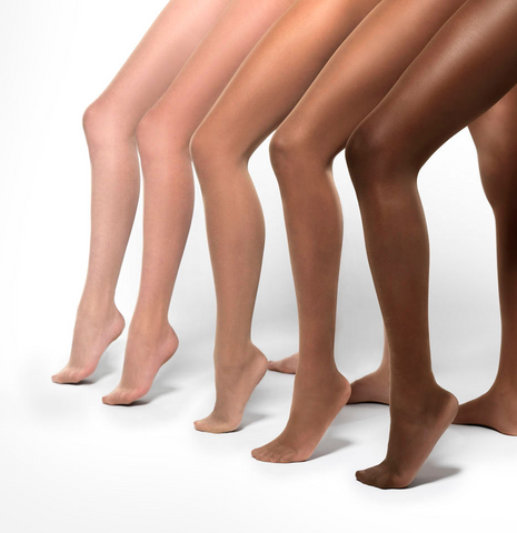 Five Shades Of Nude Tights