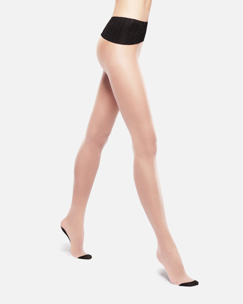 20 DENIER Nude seamless Tights