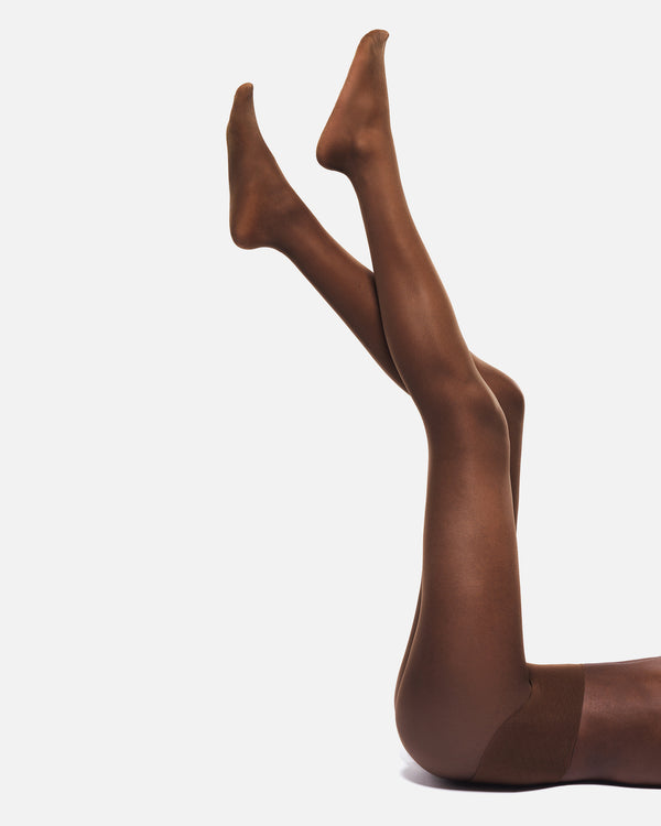 Hedoine Spicy Praline Ladder proof Tights
