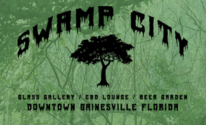 Florida - Swamp City - Cannabis - CBD - GLASS - BEER