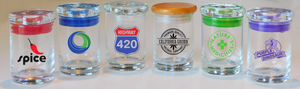Custom Cannabis Jar - BUD Stash containers