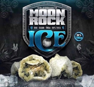 Moon ROCK ICE THCA - BUD - CLEAR - 21 Plus Medical
