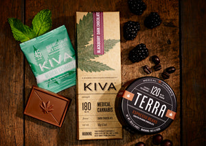 CALIFORNIA KIVA CONFECTIONS - CANNABIS CHOCOLATE BRAND