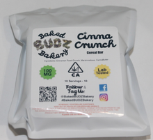 Cinna Crunch  - Baked Budz Bakery - Legal Cannabis 2018