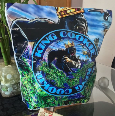 1 lb - Big 1 Pound KING Cookie Bag EXAMPLE - CUSTOM LB BAGS - POUND BAG CUSTOM