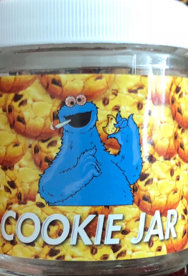 Cookie Jar Stickers - Sample Jar Labels