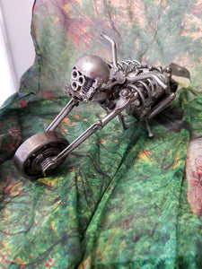 Metal Skeleton Motorcycle