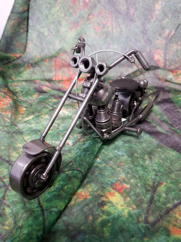 Motorcycle Metal Art - Small
