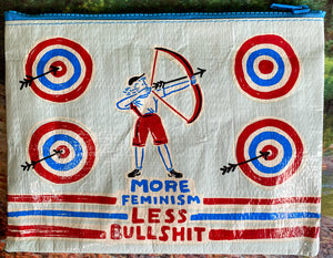 More Feminism Zipper Pouch