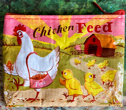 Chicken Feed Coin Purse