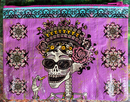Day of Dead Zipper Pouch