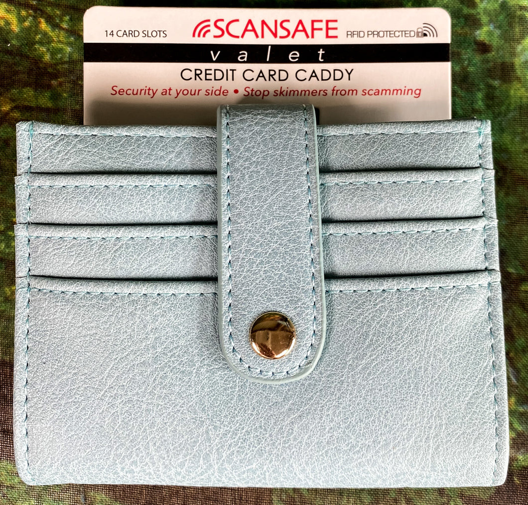 Scan Safe Credit Card Caddy