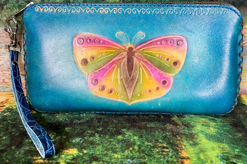 Butterfly X-Large Leather Wallet