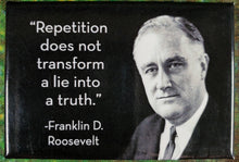 Repetition Does Not Transform a Lie Into a Truth- Magnet