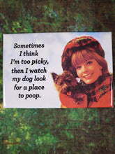 Dog Place to Poop - Magnet