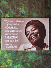 If You're Always Trying to Be Normal - Magnets
