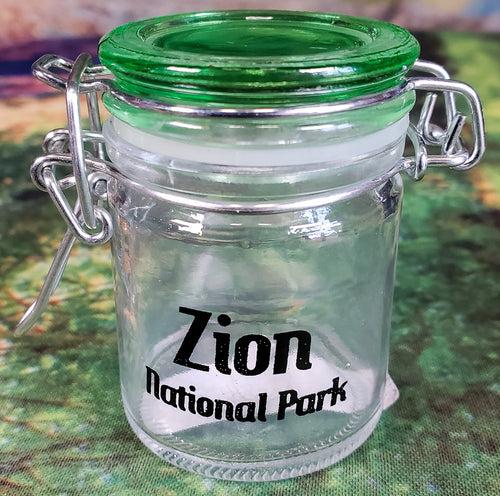 Zion Shot Glass Canister