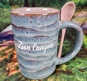 Zion Ceramic Stained Mug