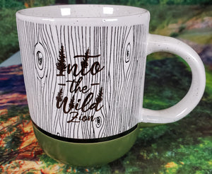 Into The Wild Woodgrain Mug