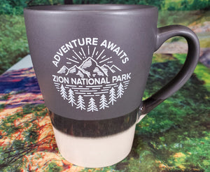 Adventure Zion Two-Toned Mug