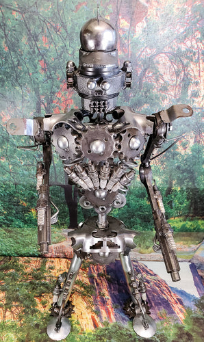 Robot Metal Art - Large