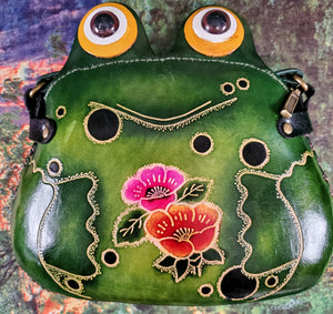 Frog Large Leather Purse