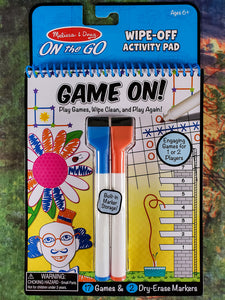 Wipe Off Activity Pad