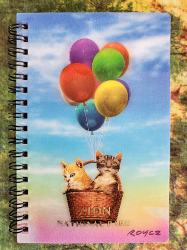 Kitty UP 3D Notebook