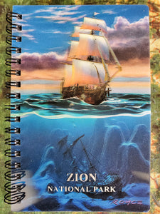 Sail Away 3D Notebook