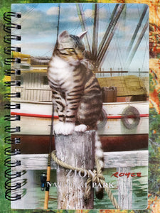 Wharf Cat 3D Notebook