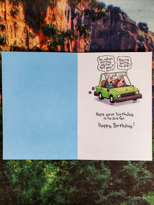 Relieve Stress Birthday Card