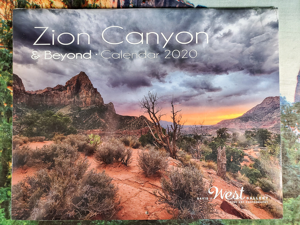 2020 Zion Canyon & Beyond Calendar