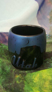 Utah Night Sky Shot Glass