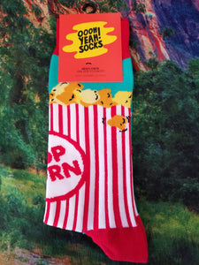Box 'o Popcorn - Men's Crew Sock