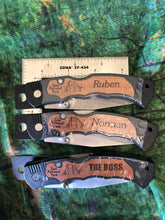 "Personalized Zion Folding Knife ""L"" to ""S"""
