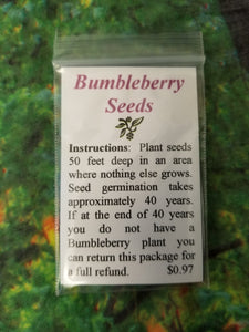 Bumbleberry Seeds