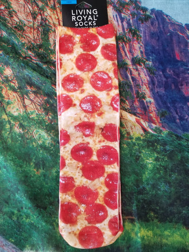 Pepperoni Pizza - Crew Sock