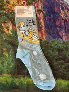Here Comes Trouble - Women's Crew Sock