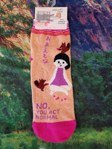 No, You Act Normal - Women's Ankle Sock